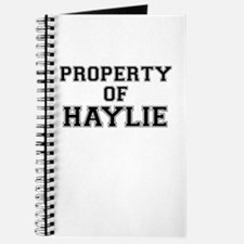 Property of HAYLIE Journal