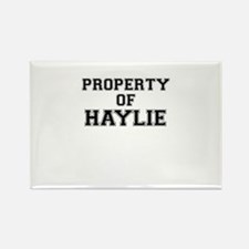 Property of HAYLIE Magnets