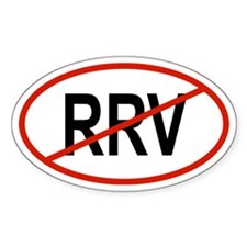 RRV Oval Decal