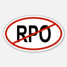 RPO Oval Decal