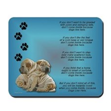 Shar Pei Puppies Mousepad