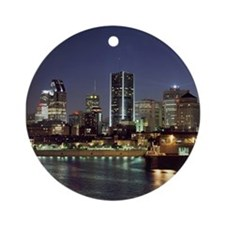 Montreal Ornament (Round)