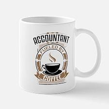 Accountant Fueled By Coffee Mugs
