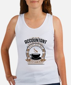 Accountant Fueled By Coffee Tank Top