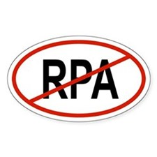 RPA Oval Decal