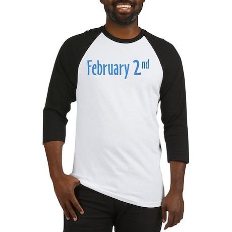 February 2nd Baseball Jersey