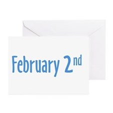 February 2nd Greeting Cards (Pk of 20)