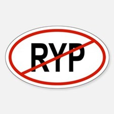 RYP Oval Decal
