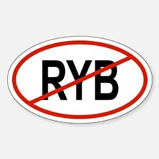 RYB Oval Decal