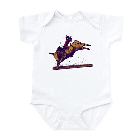 """BULL RIDER """"JIMMY"""" Infant Bodysuit"""