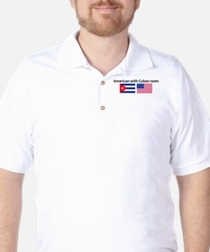 American with Cuban roots Golf Shirt