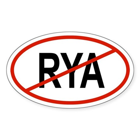RYA Oval Sticker