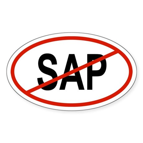 SAP Oval Sticker