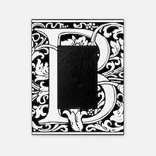 Elegant Vintage Flourish Letter B Mo Picture Frame