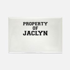 Property of JACLYN Magnets