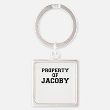 Property of JACOBY Keychains