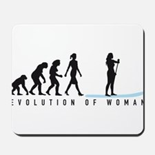 Evolution Stand Up Paddling woman Mousepad