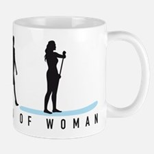 Evolution Stand Up Paddling woman Mugs