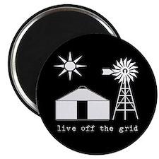 """Live Off-Grid 2.25"""" Magnet (10 pack)"""