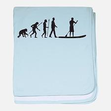 Evolution Stand Up Paddling baby blanket