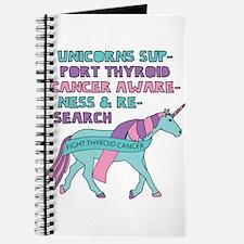 Unicorns Support Thyroid Cancer Awareness Journal
