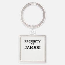 Property of JAMARI Keychains