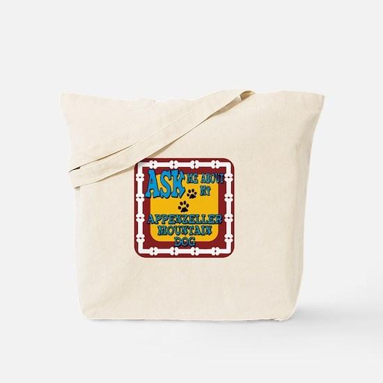 Appenzeller Mountain Dog Tote Bag