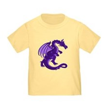 Purple Dragon Toddler Tee