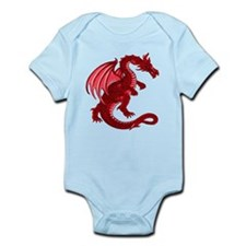 Red Dragon Infant Creeper