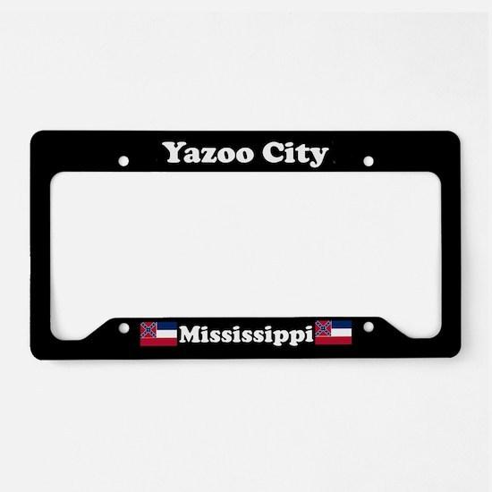 Yazoo City MS License Plate Holder