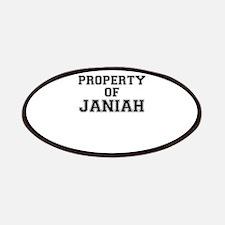 Property of JANIAH Patch