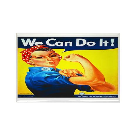 Rosie the Riveter Rectangle Magnet (100 pack)