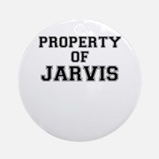 Property of JARVIS Round Ornament