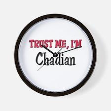 Trusty Me I'm Chadian Wall Clock