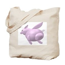 Flying Pig Icon Tote Bag