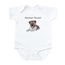 Cute Akitas Infant Bodysuit