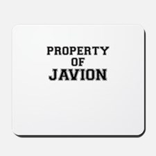 Property of JAVION Mousepad