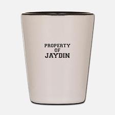 Property of JAYDIN Shot Glass