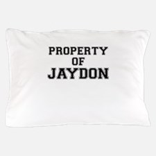 Property of JAYDON Pillow Case