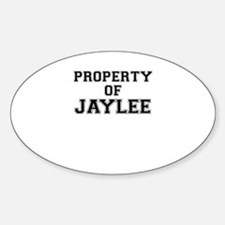 Property of JAYLEE Decal
