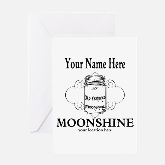 Homemade Moonshine Greeting Cards
