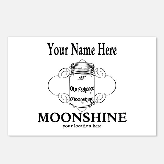 Homemade Moonshine Postcards (Package of 8)