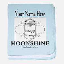 Homemade Moonshine baby blanket