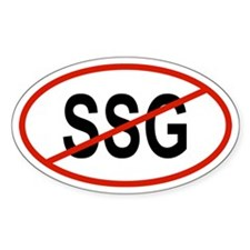 SSG Oval Decal