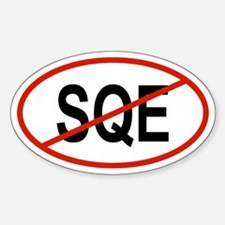 SQE Oval Decal