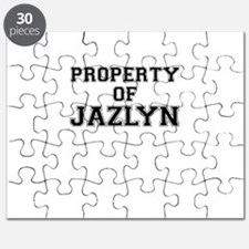 Property of JAZLYN Puzzle