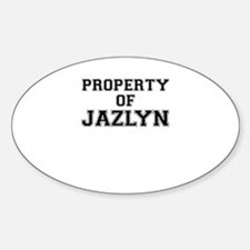 Property of JAZLYN Decal