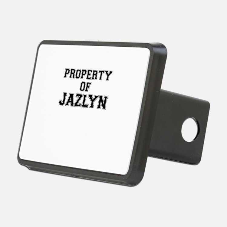 Property of JAZLYN Hitch Cover