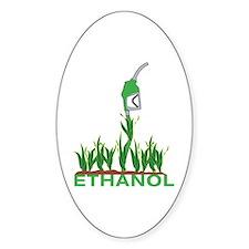 Ethanol Oval Decal