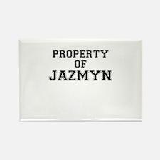 Property of JAZMYN Magnets